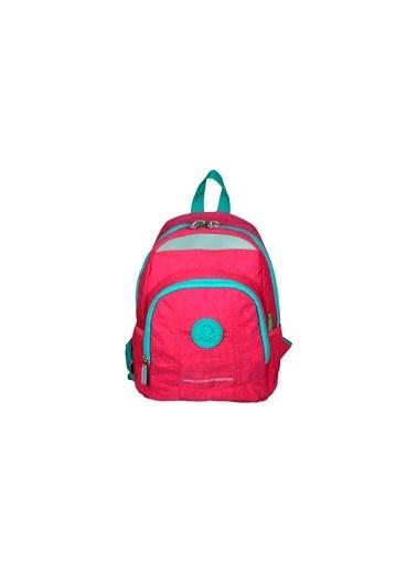 012 Benetton Okul Çantası Pembe